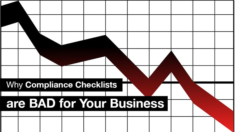 Compliance checklists can be bad for you